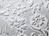 LL FLORAL White Silver matt
