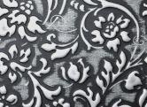 LL FLORAL Black Silver matt